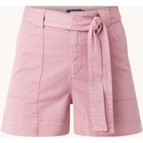 Short en jean taille haute taille haute avec ceinture à nouer Owtis - Ted Baker - Modalova