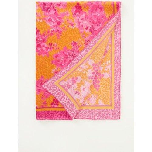 Foulard en soie à imprimé floral 180 x 65 cm - Ted Baker - Modalova