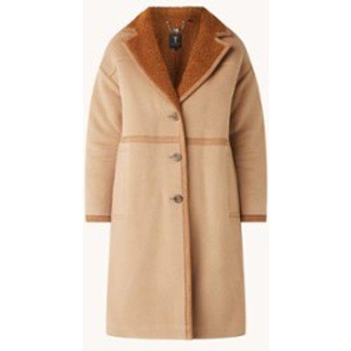 Manteau surdimensionné Joanahh en laine mélangée avec doublure en teddy - Ted Baker - Modalova
