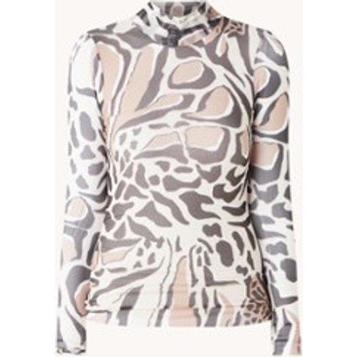 Top en maille semi-transparent Lauza à imprimé léopard - Ted Baker - Modalova