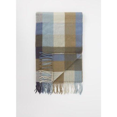 Foulard bloc avec motif losanges 200 x 60 cm - Barts - Modalova