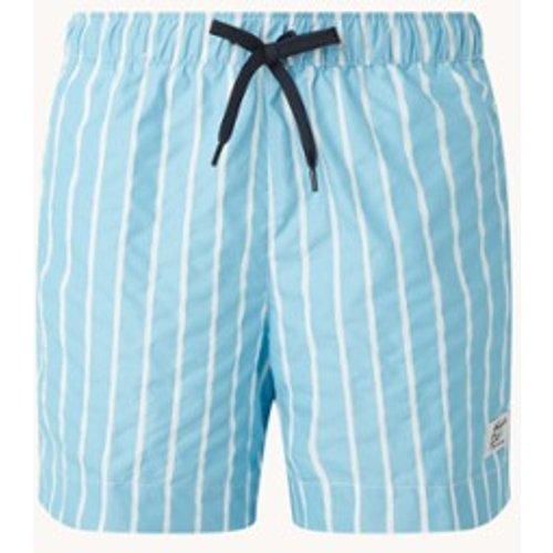 Short de bain avec imprimé logo et poches latérales - Tommy Hilfiger - Modalova