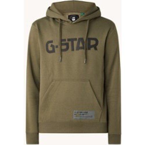Sweat à capuche avec logo - G-Star Raw - Modalova