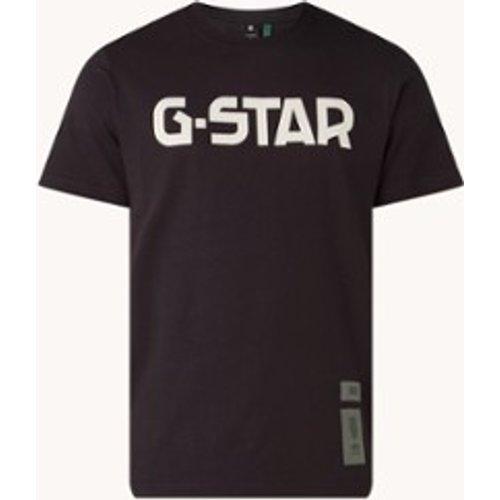 T-shirt en coton biologique avec imprimé logo - G-Star Raw - Modalova