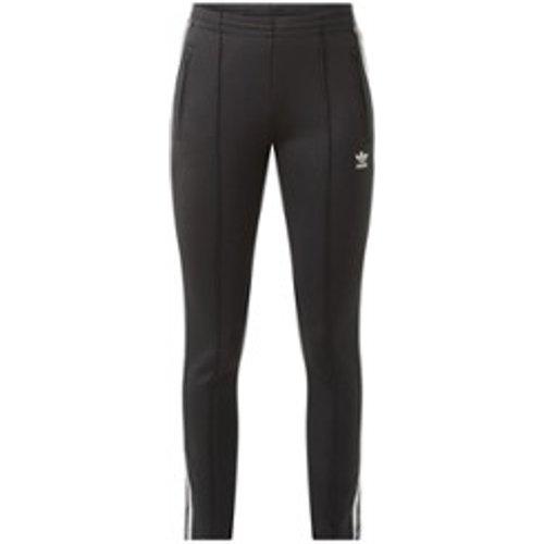 Pantalon de jogging slim taille haute avec logo - Adidas - Modalova