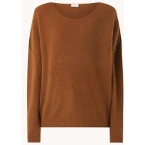 Pullover maille fine en laine mélangée - American vintage - Modalova