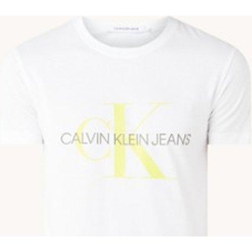 T-shirt en coton biologique avec imprimé logo - Calvin Klein - Modalova