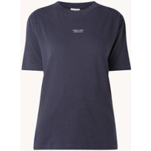 T-shirt en coton biologique à imprimé texte - ARMEDANGELS - Modalova