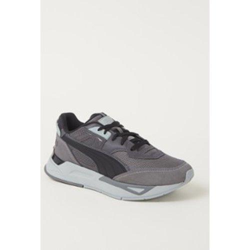 Sneaker Mirage Sport Remix avec détails en cuir et en daim - Puma - Modalova