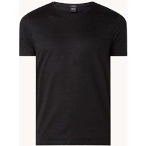 Tessler slim fit T-shirt van katoen - Hugo Boss - Modalova