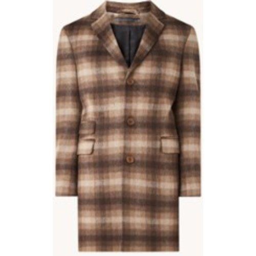 Manteau en laine mélangée à motif à carreaux - drykorn - Modalova