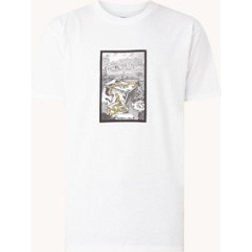 T-shirt Snakes avec imprimé sur le devant - Obey - Modalova