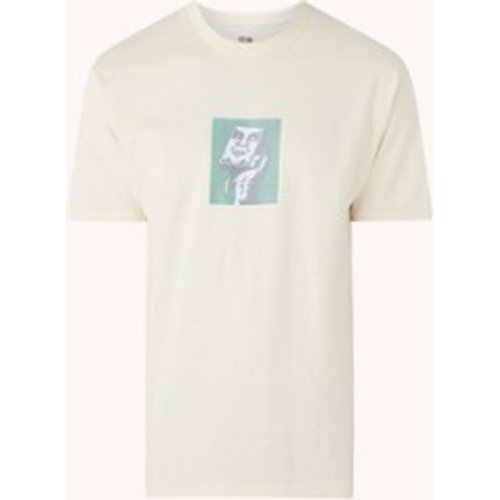 T-shirt A Last avec imprimé sur le devant - Obey - Modalova