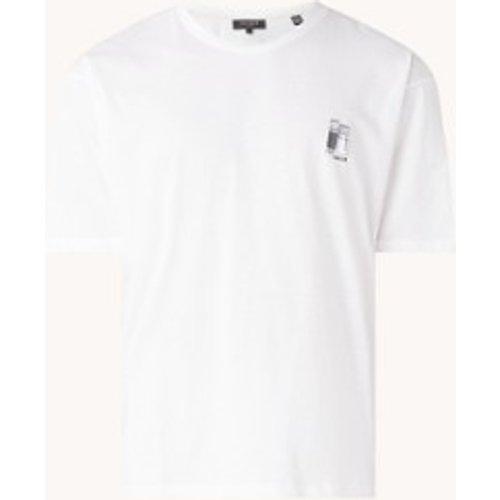T-shirt avec imprimé sur le devant et à l'arrière - Ted Baker - Modalova