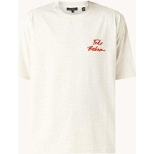 T-shirt avec imprimé logo floqué - Ted Baker - Modalova