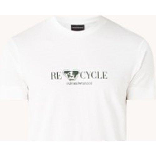 T-shirt avec imprimé logo - Emporio Armani - Modalova