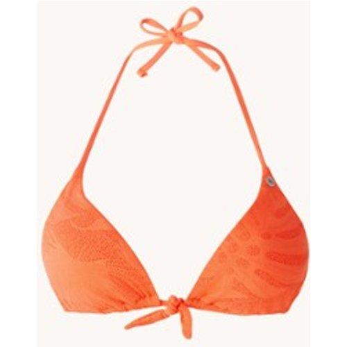 Haut de bikini triangle rembourré avec crochet Treo Paradise - banana moon - Modalova