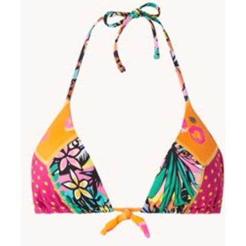 Haut de bikini triangle avec imprimé Thelio Sunshine - banana moon - Modalova
