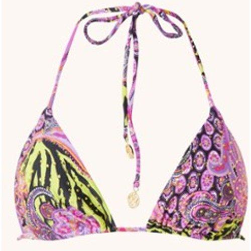 Haut de bikini triangle rembourré Beyond Wild avec strass - Luli Fama - Modalova