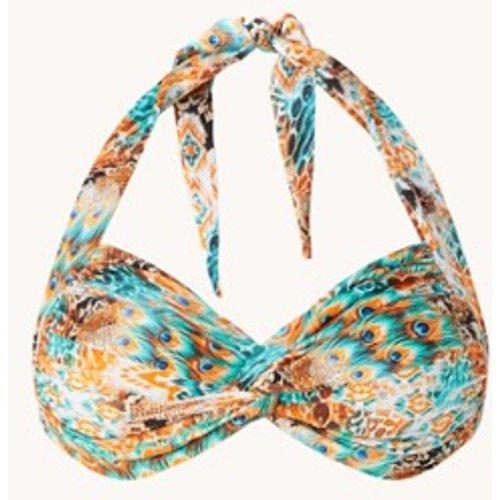 Haut de bikini licou indompté avec imprimé - Luli Fama - Modalova