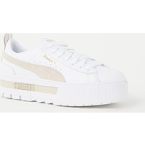 Sneaker en cuir avec détails en daim - Puma - Modalova