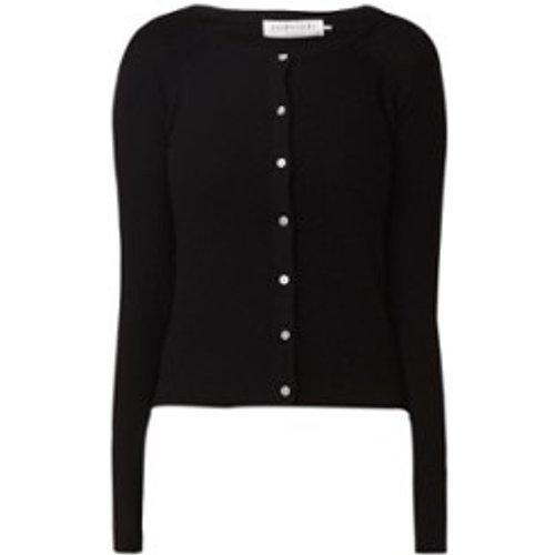 Cardigan laica finement tricoté en mélange de cachemire - Rosemunde - Modalova
