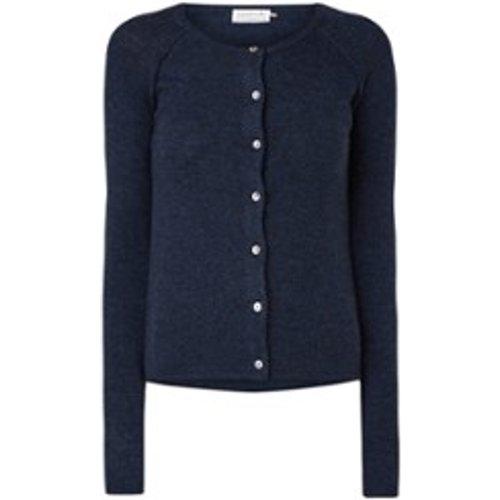 Gilet en cachemire tricoté avec fermeture de bouton - Rosemunde - Modalova