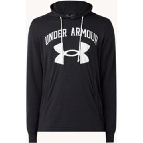 Sweat d'entraînement à capuche avec imprimé logo - Under Armour - Modalova