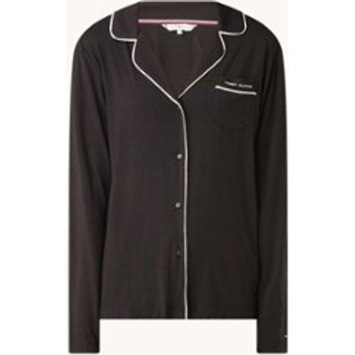 Haut de pyjama avec liseré contrastant - Tommy Hilfiger - Modalova