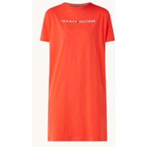 Robe T-shirt avec imprimé logo - Tommy Hilfiger - Modalova