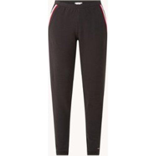Pantalon de survêtement coupe fuselée taille haute en lyocell mélangé avec détail rayé - Tommy Hilfiger - Modalova