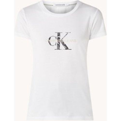 T-shirt avec imprimé logo - Calvin Klein - Modalova