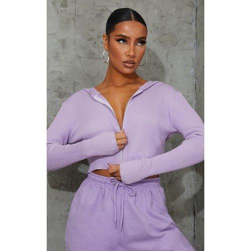 Gilet en maille tricot fine à zip - PrettyLittleThing - Modalova