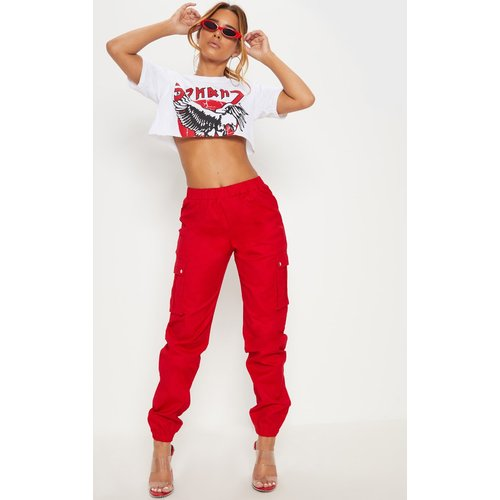 Petite - Pantalon cargo détail poches - PrettyLittleThing - Modalova