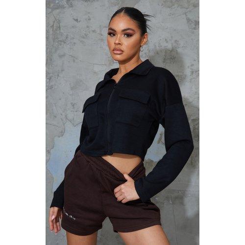 Chemise courte à poches - PrettyLittleThing - Modalova