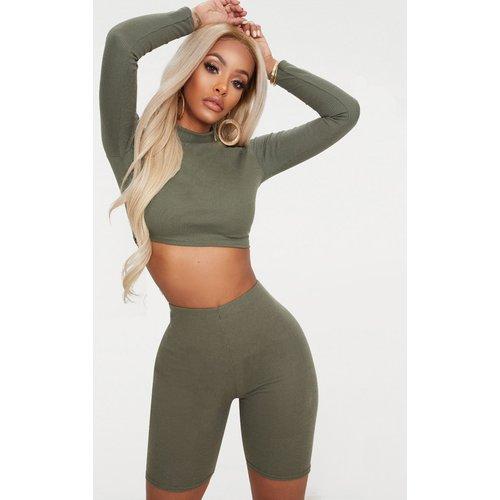 Shape - Short legging en maille côtelée - PrettyLittleThing - Modalova