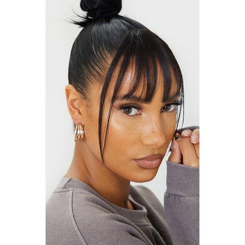 Boucles d'oreilles créoles à découpes - PrettyLittleThing - Modalova