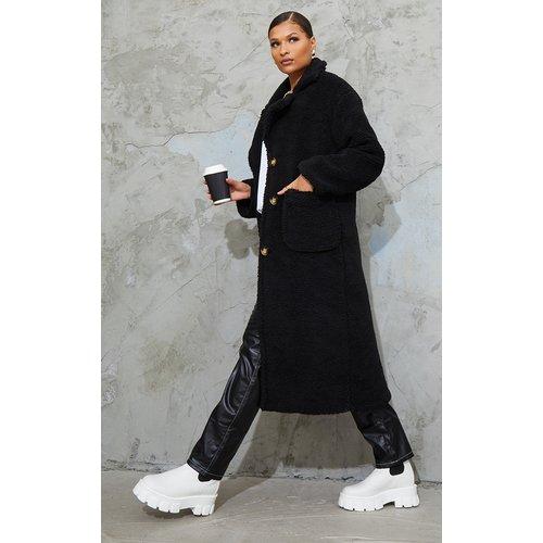 Manteau long en faux-mouton - PrettyLittleThing - Modalova