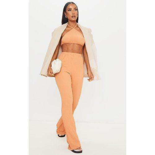 Pantalon ample texturé - PrettyLittleThing - Modalova
