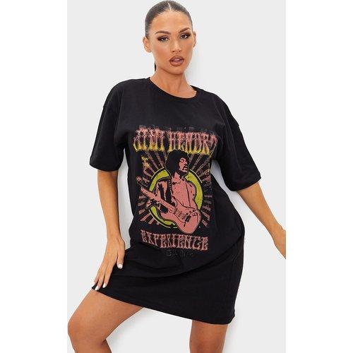 Robe t-shirt imprimé Jimi Hendrix - PrettyLittleThing - Modalova