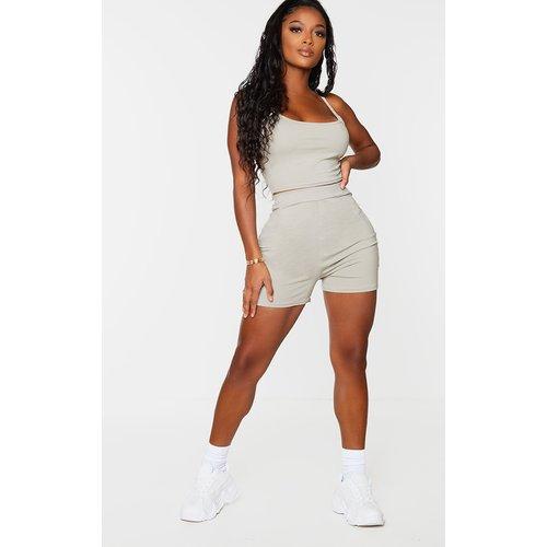 Shape - Short en coton taille haute  - PrettyLittleThing - Modalova