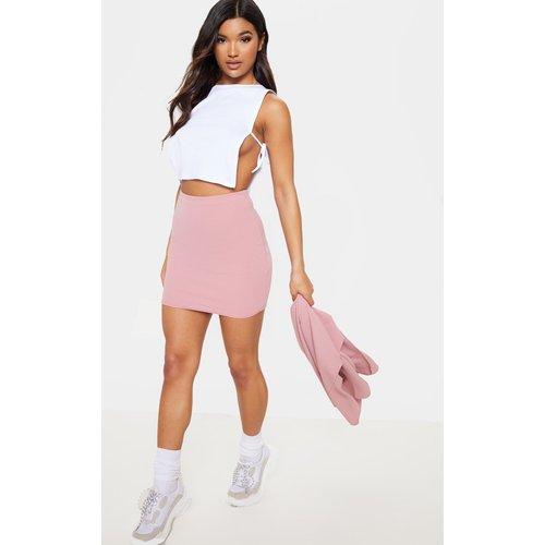Mini-jupe rose style tailleur, Rose - PrettyLittleThing - Modalova