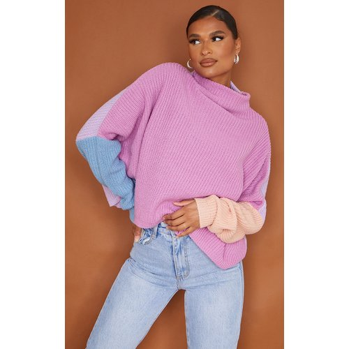 Pull oversize style colourblock - PrettyLittleThing - Modalova