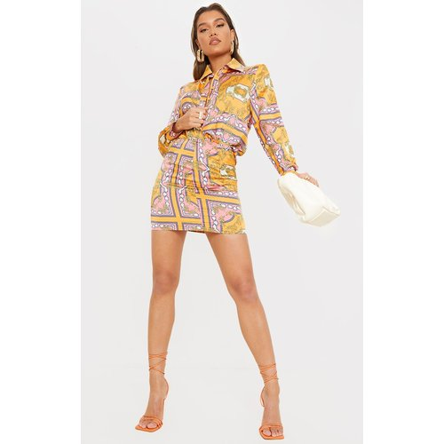 Mini-jupe en maille imprimé cachemire - PrettyLittleThing - Modalova