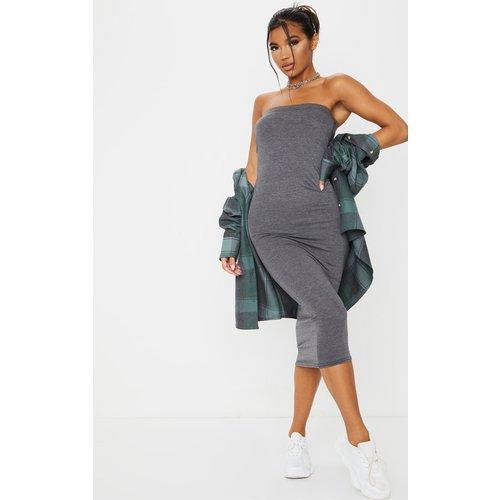 Longue robe bandeau basique - PrettyLittleThing - Modalova