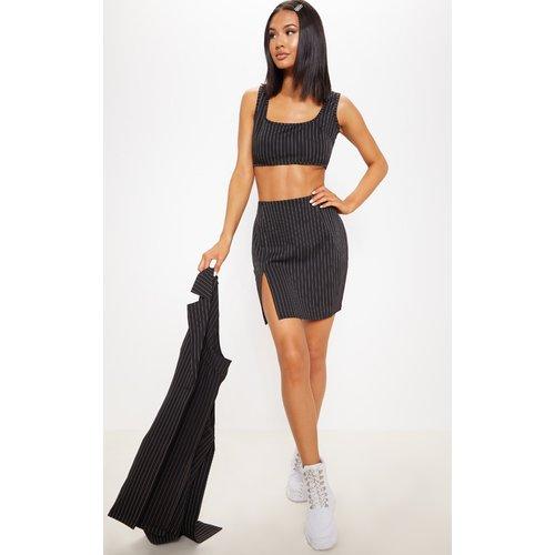 Mini-jupe à rayures fendue - PrettyLittleThing - Modalova