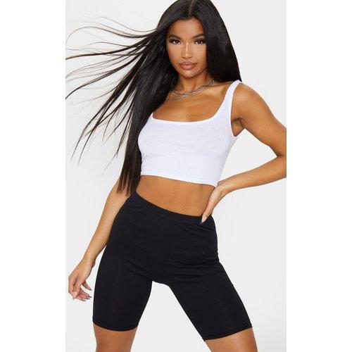 Short-legging en coton stretch - PrettyLittleThing - Modalova