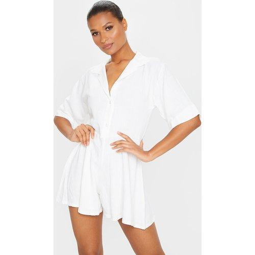 Combishort style chemise oversize - PrettyLittleThing - Modalova