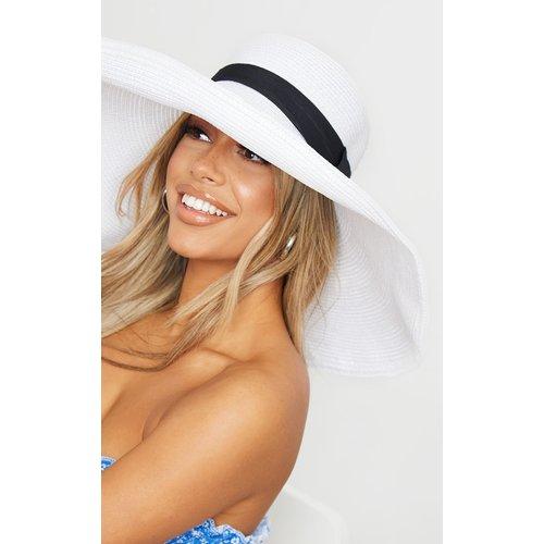 Chapeau de paille à larges bords - PrettyLittleThing - Modalova