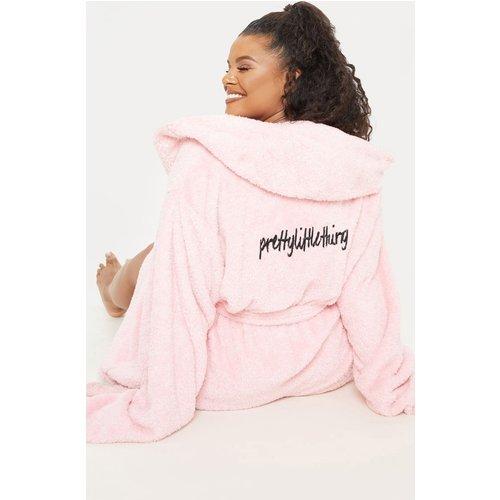Plus - Robe de chambre duveteuse - PrettyLittleThing - Modalova